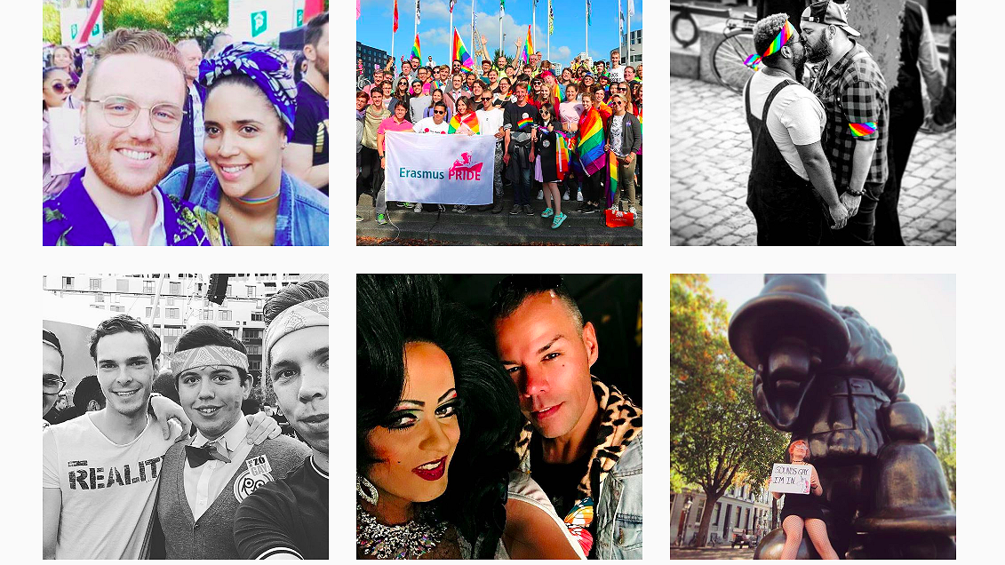 Foto's: zo zag Rotterdam Pride eruit
