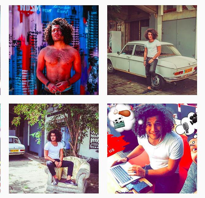 Hot hot hot op Instagram: Amir uit GTST