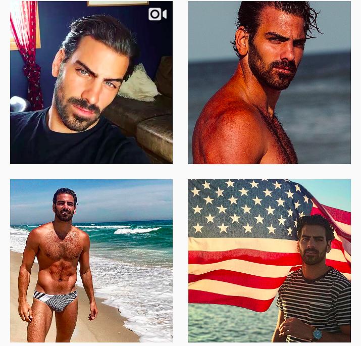 Hot hot hot op Instagram: Nyle DiMarco