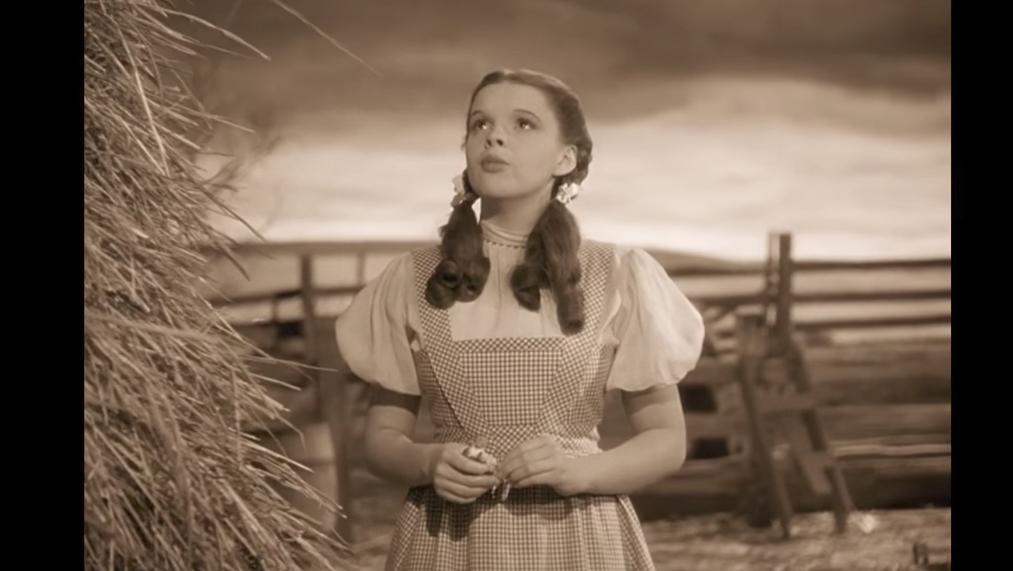 Somewhere over the rainbow: Renée Zellweger speelt Judy Garland