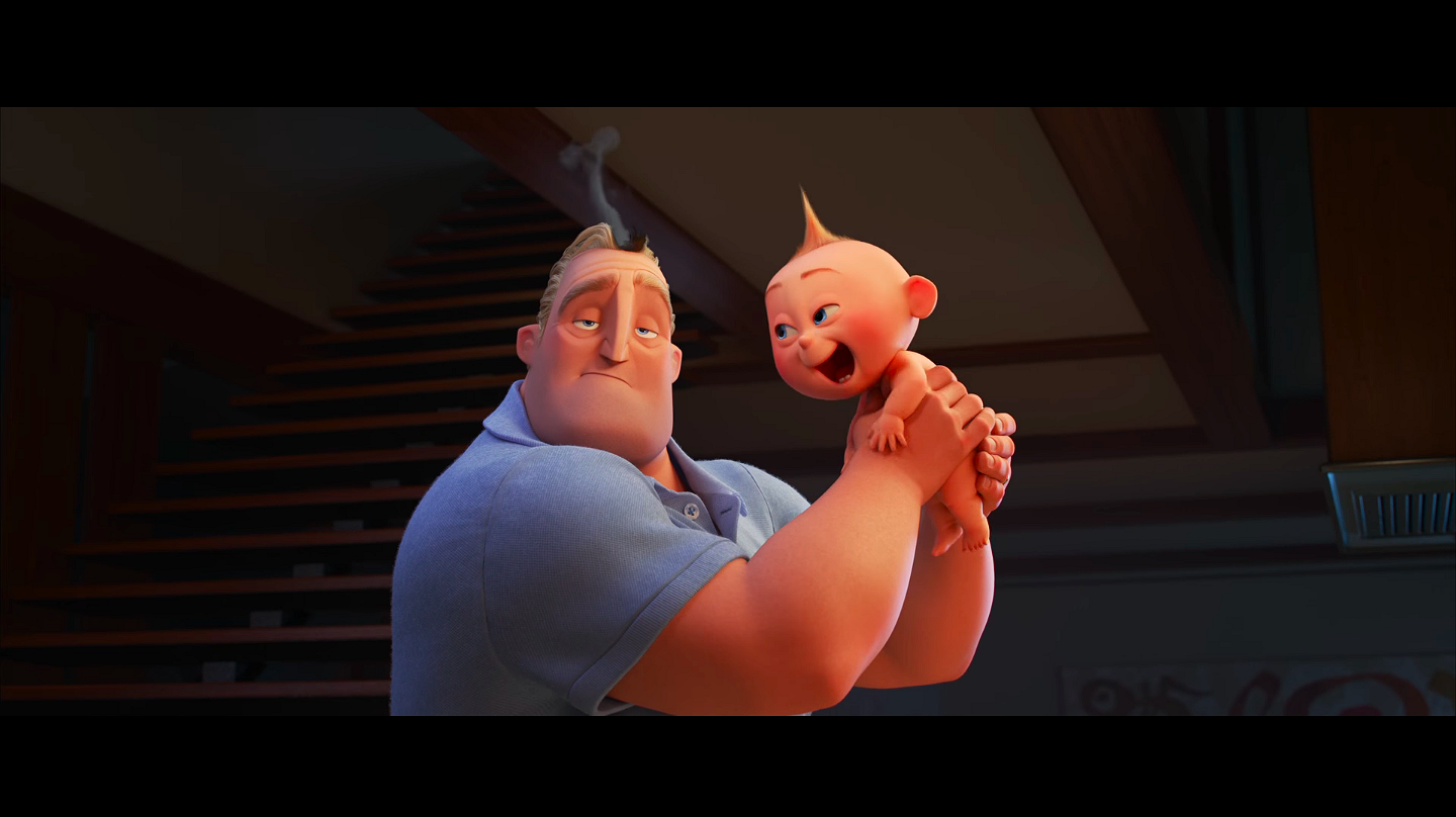 Dit is de nieuwe trailers van The Incredibles