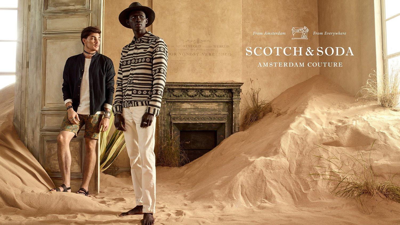 Dit is de nieuwe campagne van Scotch & Soda