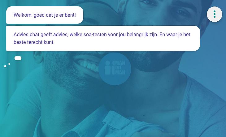 Nieuw op Gay.nl: online chat-advies over soa-testen