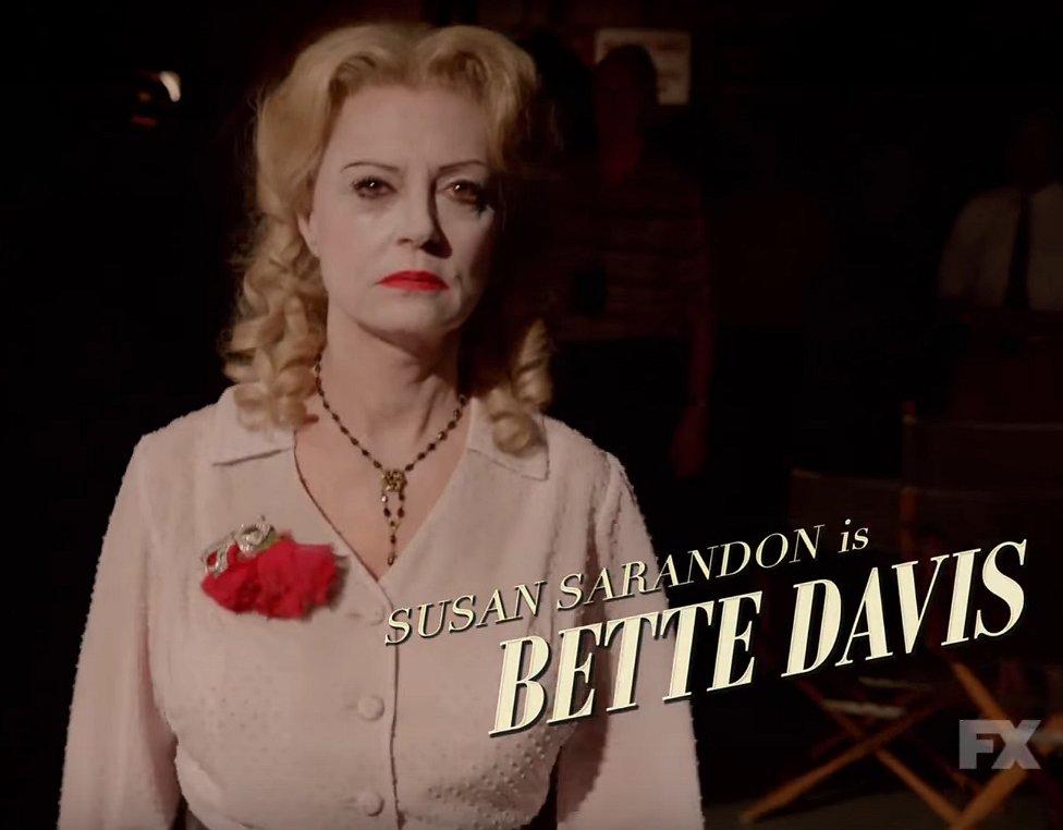 Nieuwe beelden uit Feud, de tv-serie over Joan Crawford en Bette Davis