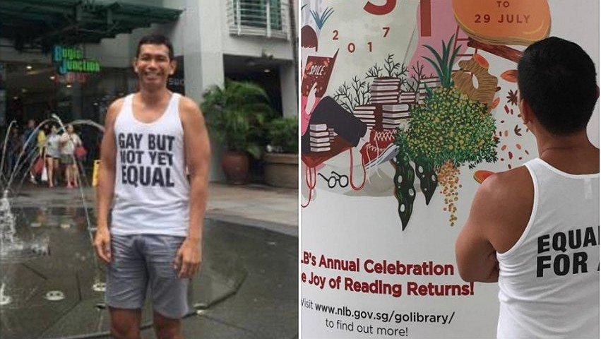 Man krijgt reprimande van fitnessclub: zijn tanktop was 'te gay'
