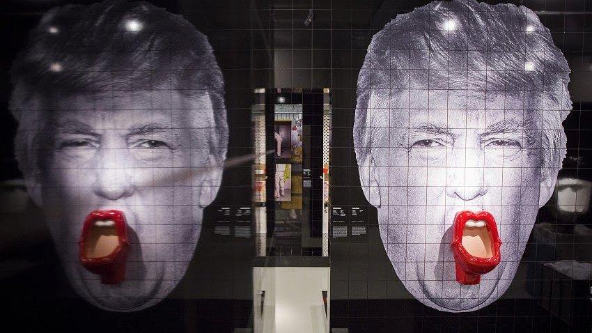 Hot Spots: plassen in de mond van Donald Trump