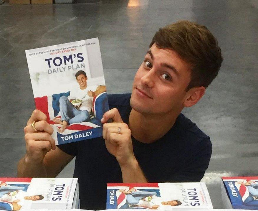 Tom Daley: 'Eet gewoon alles, maar met mate'