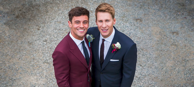 Tom Daley en Dustin Lance Black delen eindelijk romantische trouwvideo