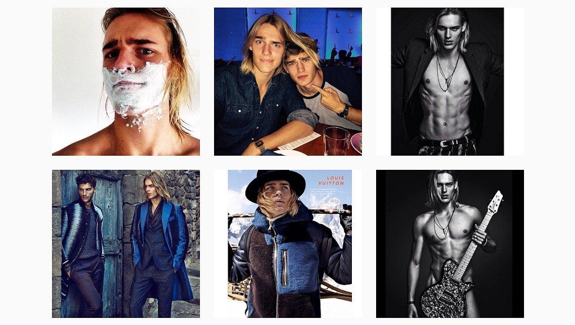 Leuk op Instagram: topmodel Ton Heukels