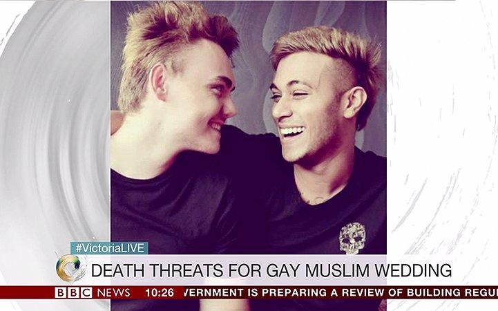 Jahid is moslim en trouwde met zijn vriend Sean. Dit is hoe de wereld reageerde