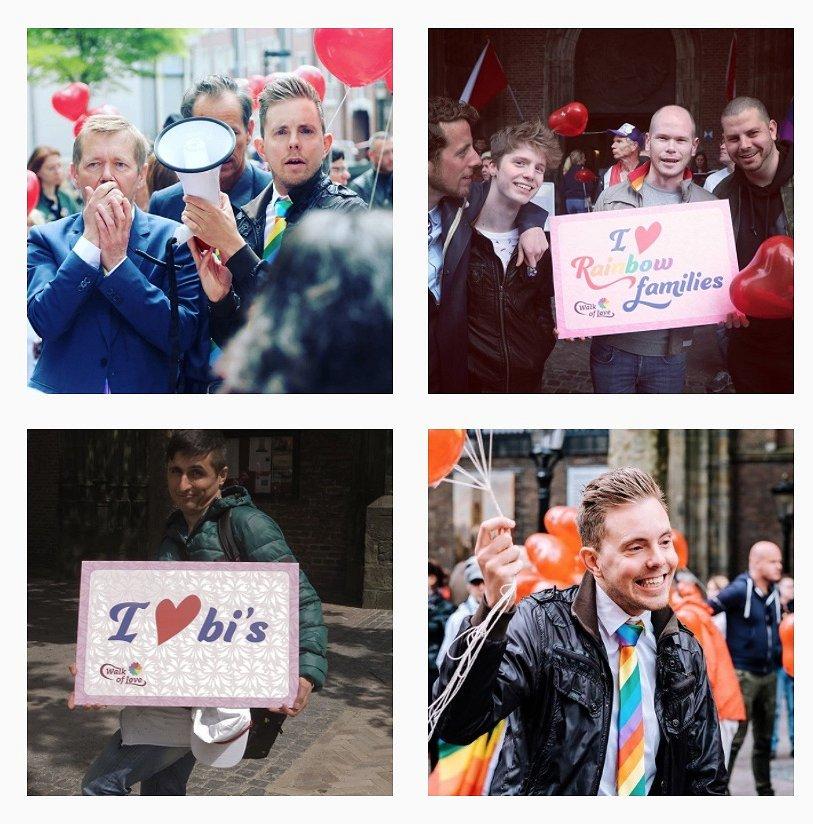 De Utrechtse Walk of Love: honderden mensen liepen mee