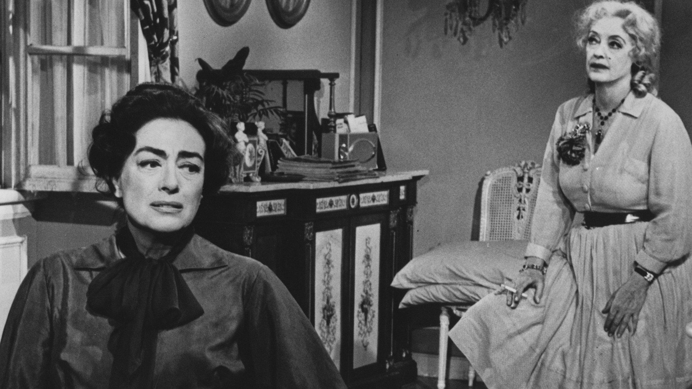 Nieuw: een tv-serie over de bitchfights van Joan Crawford en Bette Davis