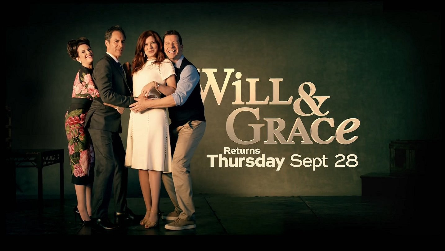 Eindelijk is bekend welke Nederlandse zender Will & Grace uitzendt!