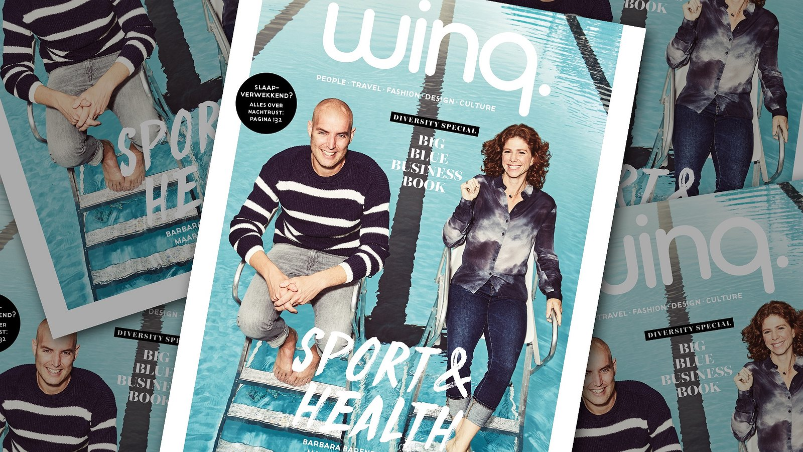 De nieuwe editie van Winq: Sport, Health, Business en alles over Gay Pride