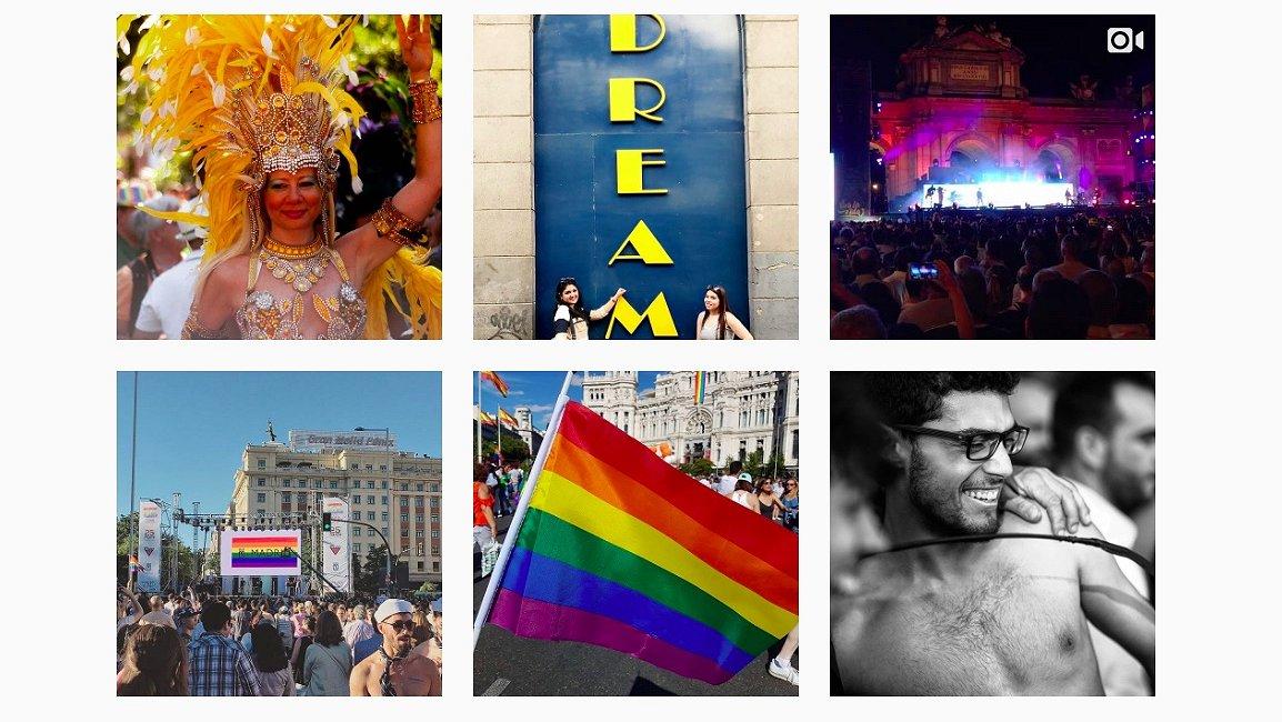 Foto's: meer dan 2 miljoen mensen kwamen naar de Madrid Gay Pride