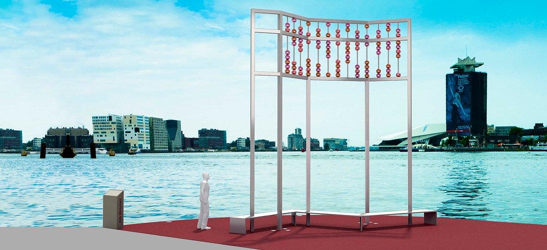 Amsterdam krijgt op 1 december een eigen aidsmonument