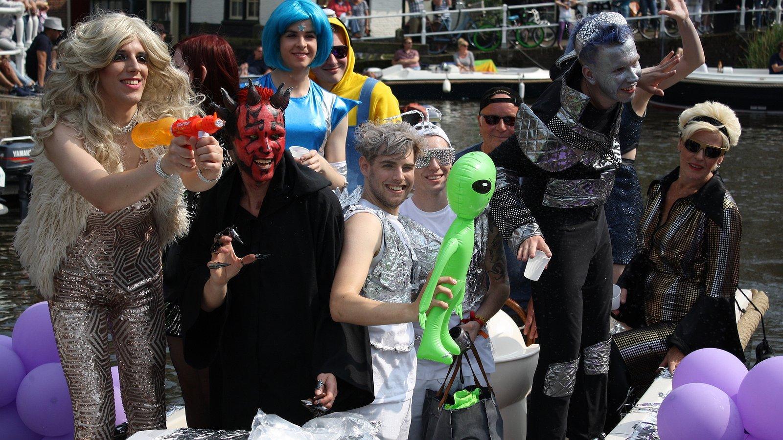 Vier de liefde tijdens Alkmaar Pride!