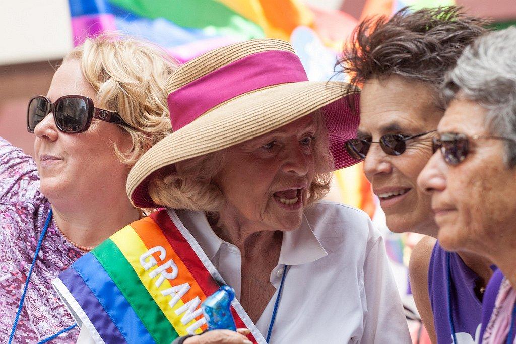 Homorechtenactivist Edith Windsor overleden op 88-jarige leeftijd