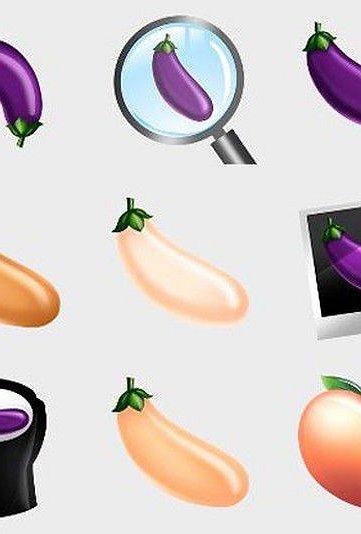 Grindr lanceert 'bijzondere' aubergine-emoji's