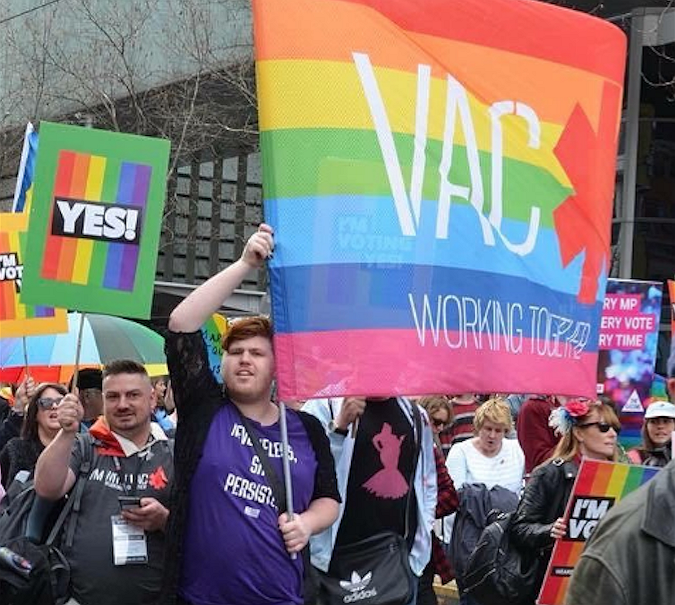 Australië | 20.000 mensen demonstreren voor het opengestelde huwelijk