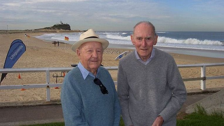 Australiërs Arthur (85) en John (89) bereiden zich vast voor op hun huwelijk