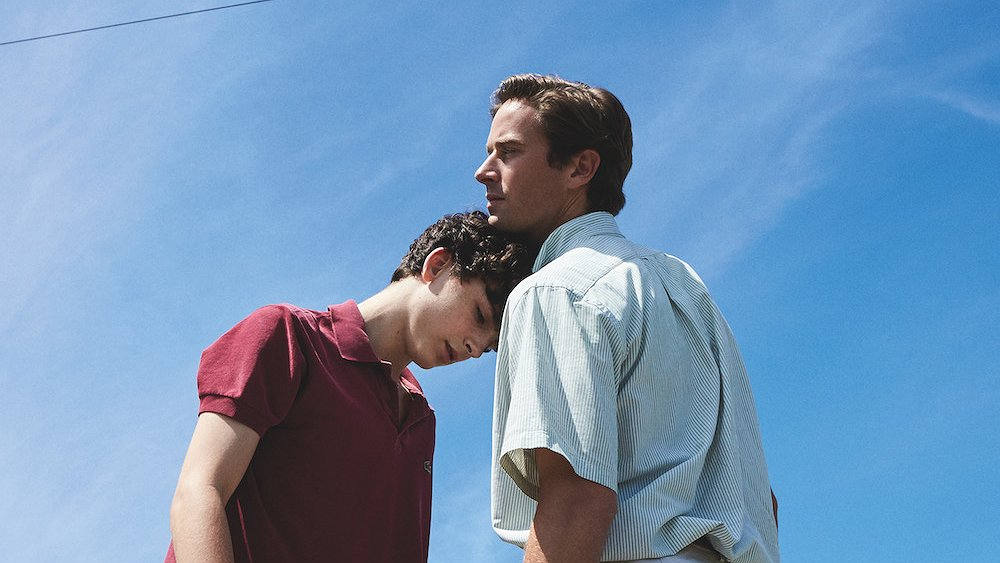 Call Me By Your Name genomineerd voor 4 Oscars