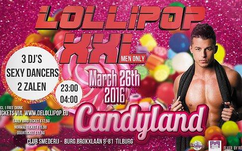 Uittip | Lollipop XXL - Candyland