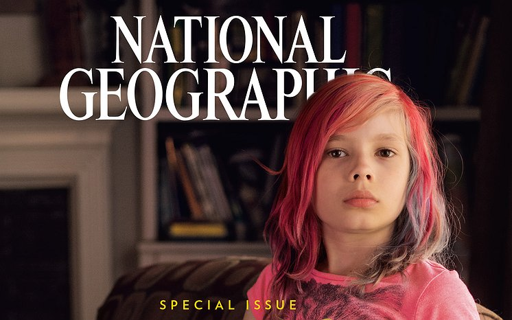 National Geographic covermodel bedreigd met de dood