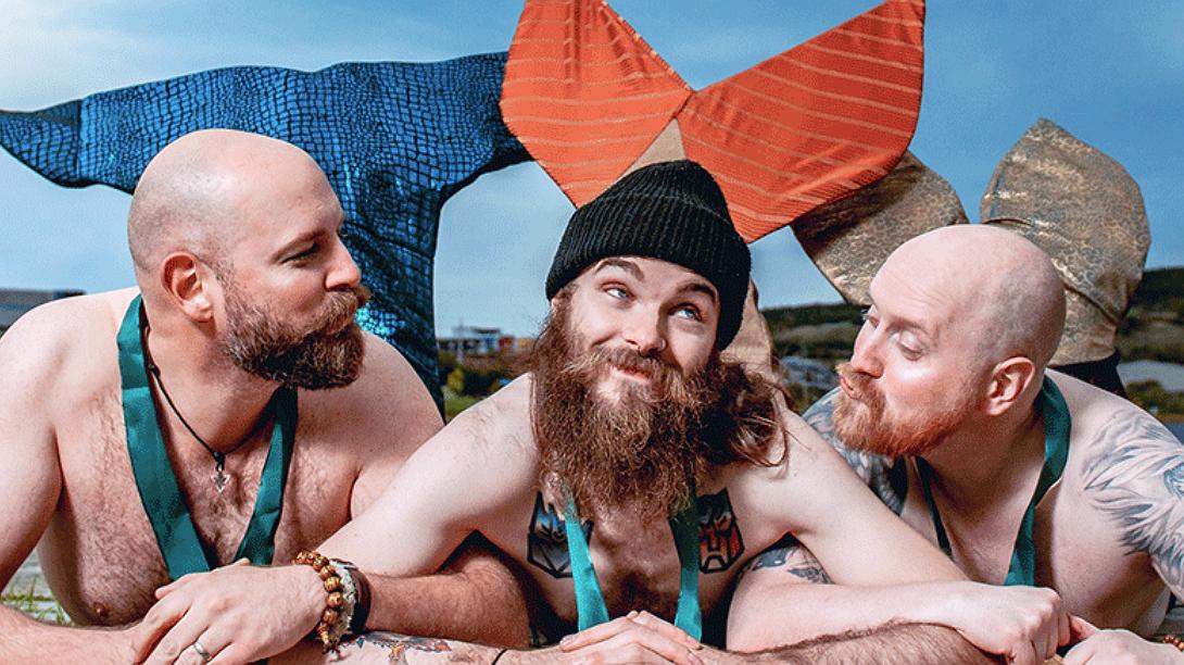 De leukste kalender van het jaar: naakte meermannen!