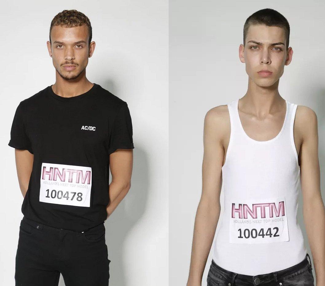 Dit zijn de heren die meedoen aan Holland's Next Top Model