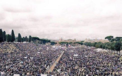 Groot Italiaans protest tegen meer homorechten