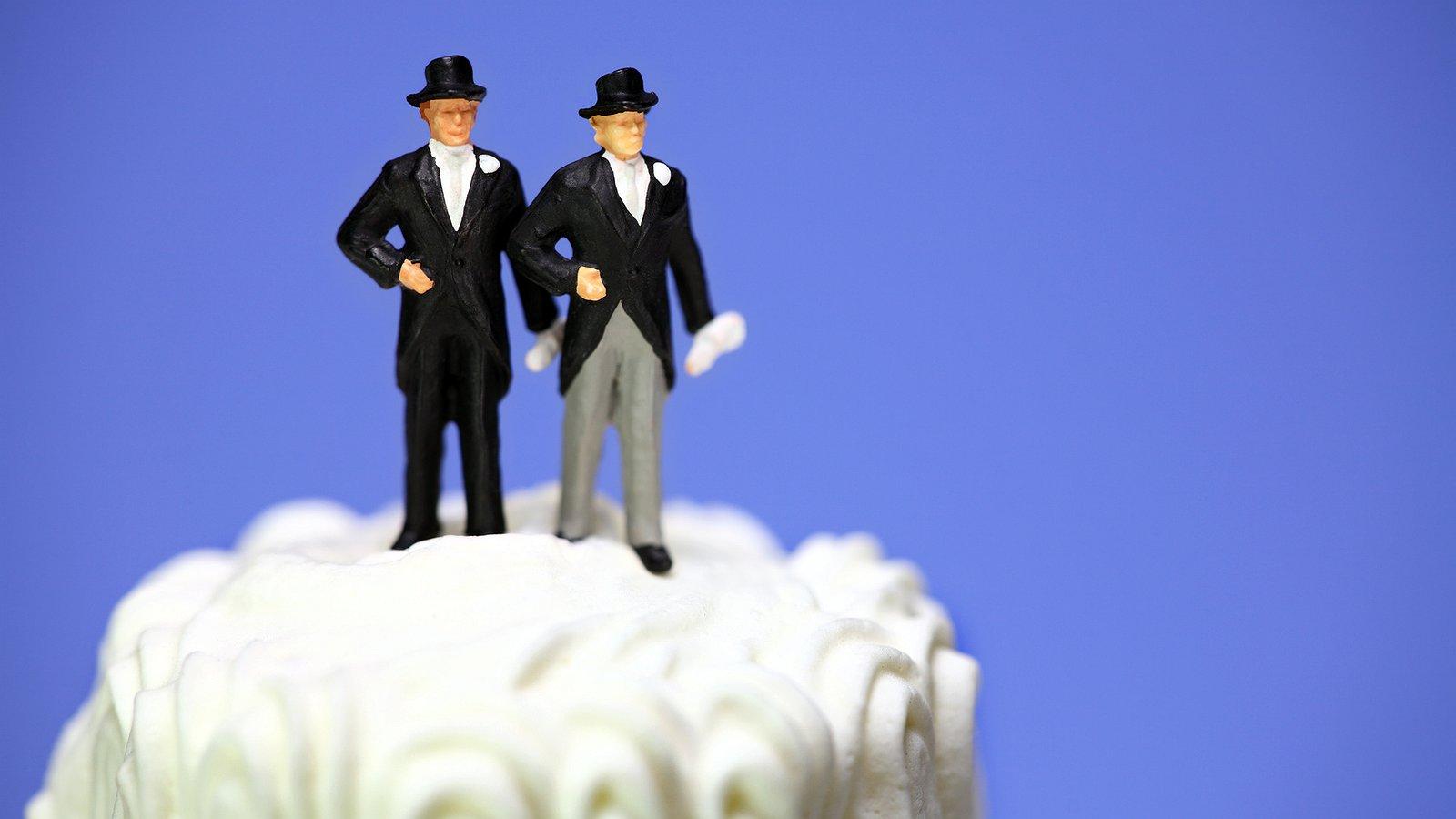 Duitse homo's mogen eindelijk trouwen!
