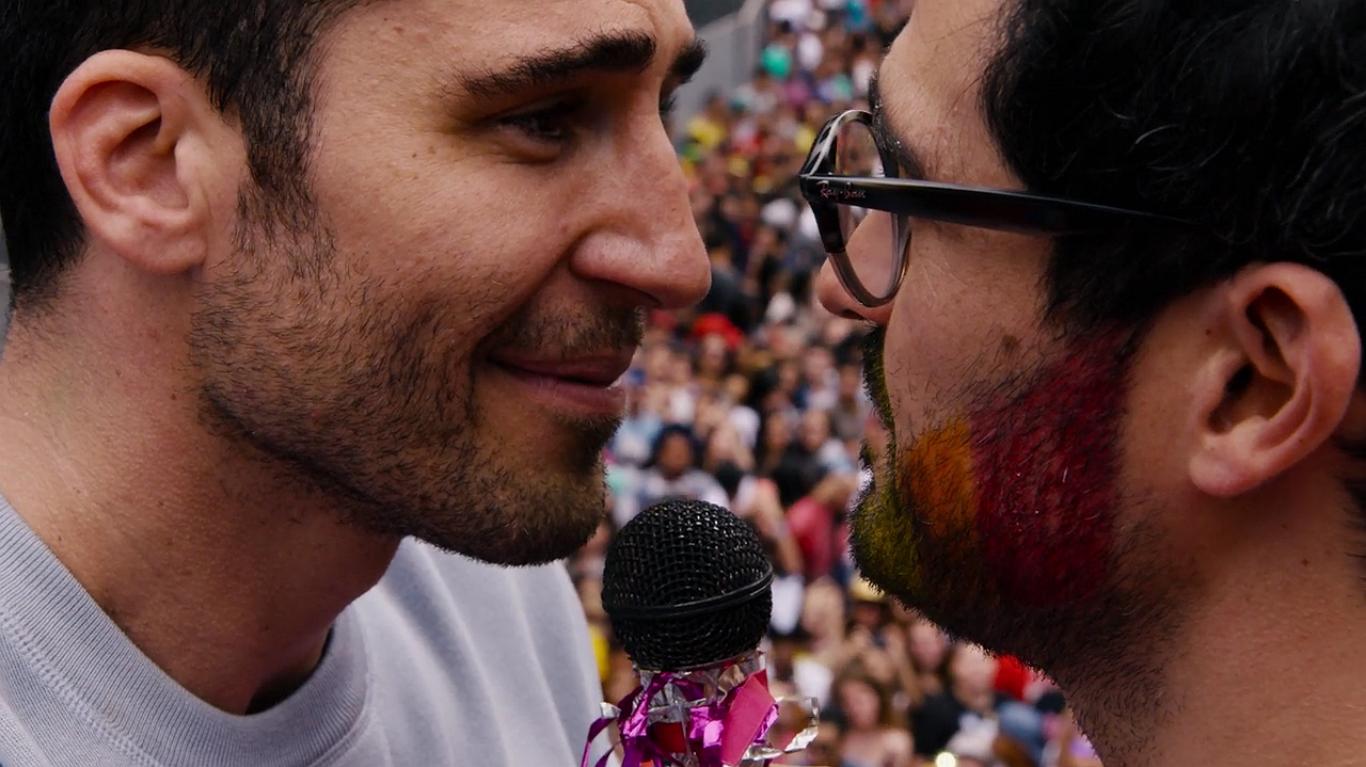 GLAAD: Er zijn steeds meer gays te zien op tv