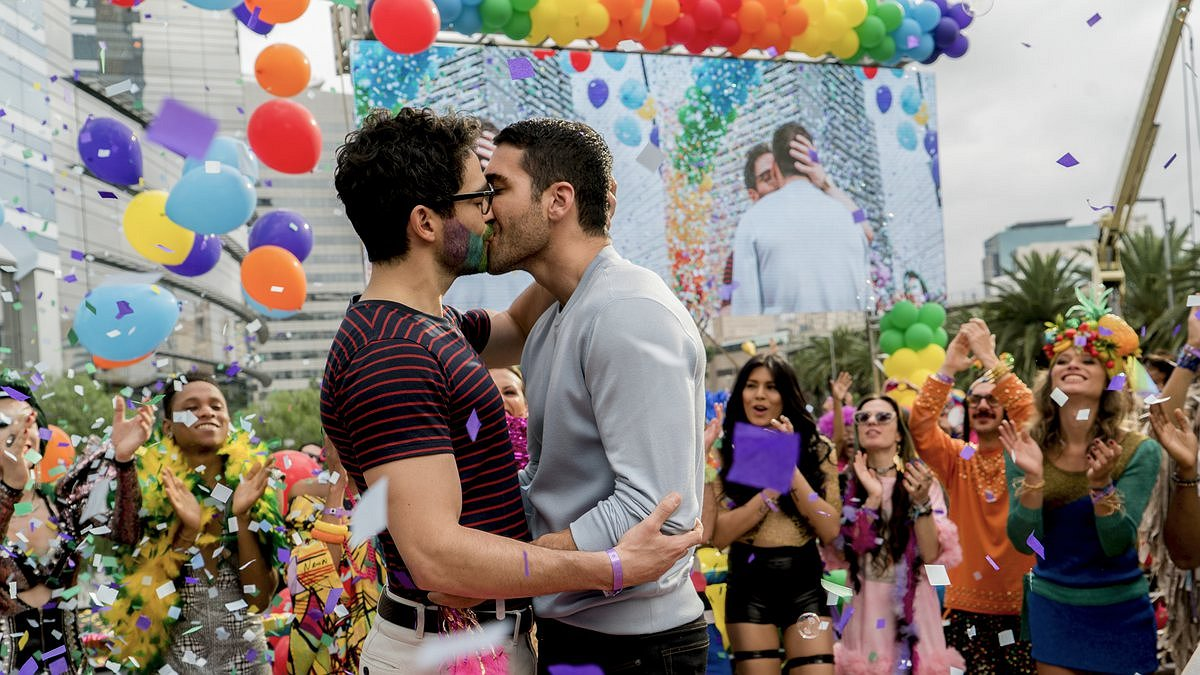 Er zijn steeds meer gays te zien op tv