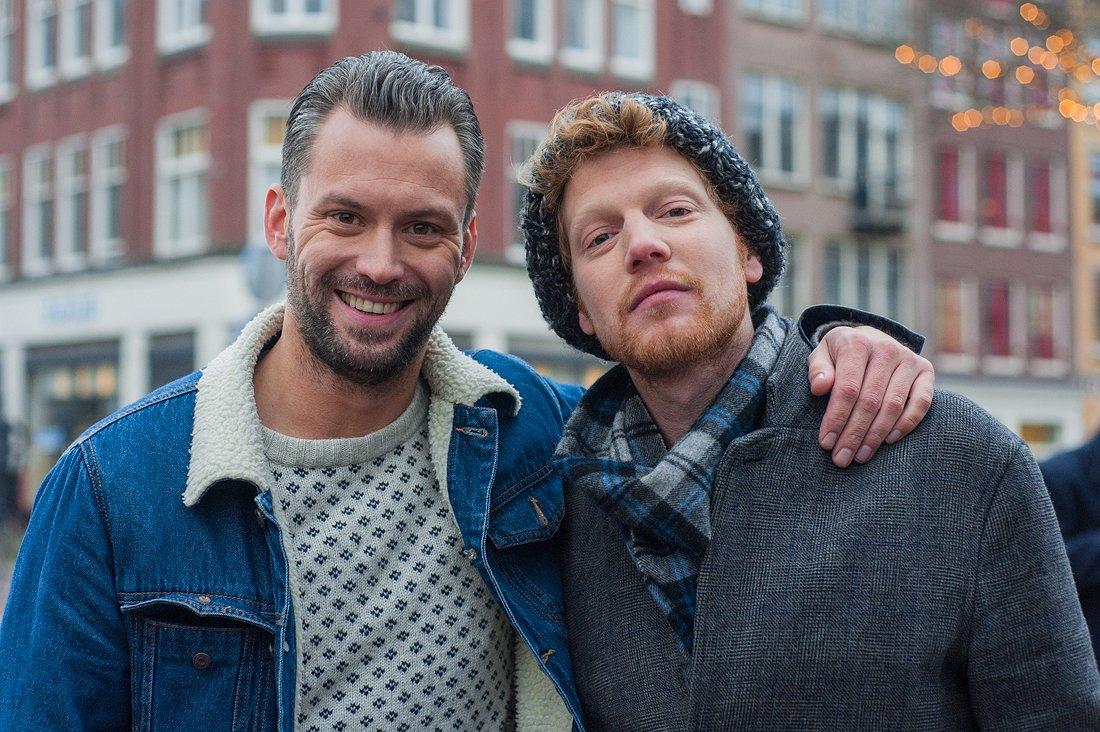 Beste vrienden Pepijn en Kevin duiken opnieuw in stereotypes over homo's en hetero's