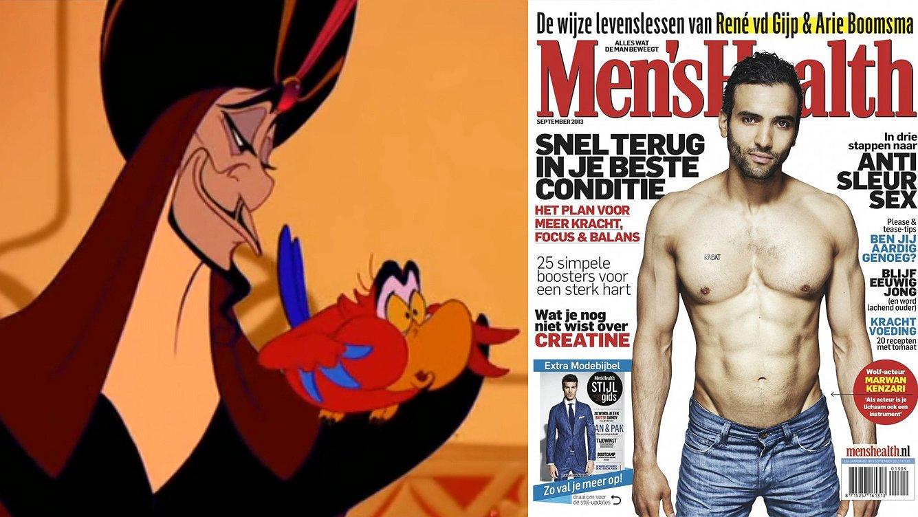 Is de Nederlandse hunk Marwan Kenzari binnenkort te zien in Aladdin?