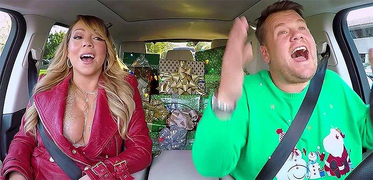 Videosnack | Christmas Carpool Karaoke met Mariah, Gaga en Adele!