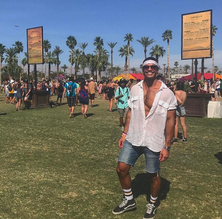 Geniet! De mannen van Coachella
