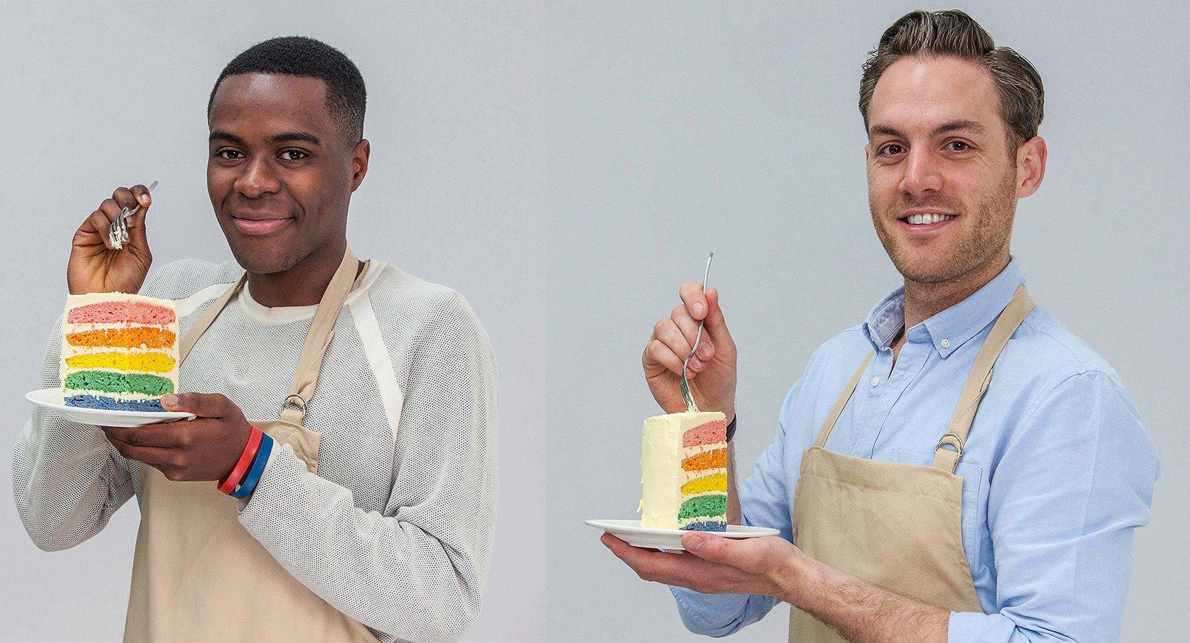 Meet Liam en Tom. De cuties van The Great British Bake Off