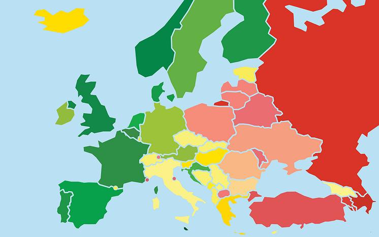 Nederland staat op de tiende plek van meest LHBT-vriendelijke landen
