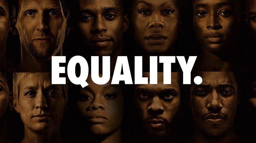 Nike wil een gelijkwaardige wereld