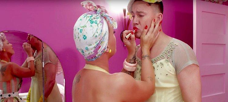 Videosnack | Pink speelt met gender én met Channing Tatum