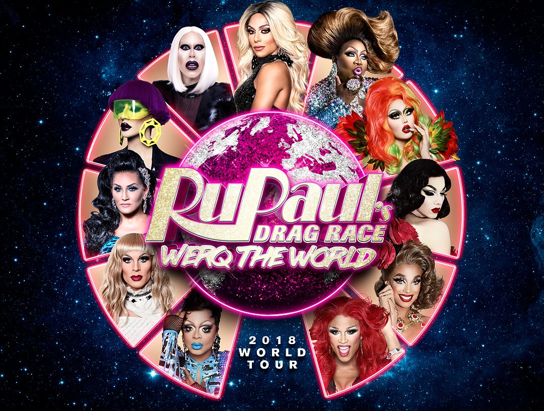 RuPaul's Drag Race queens komen weer naar Nederland!
