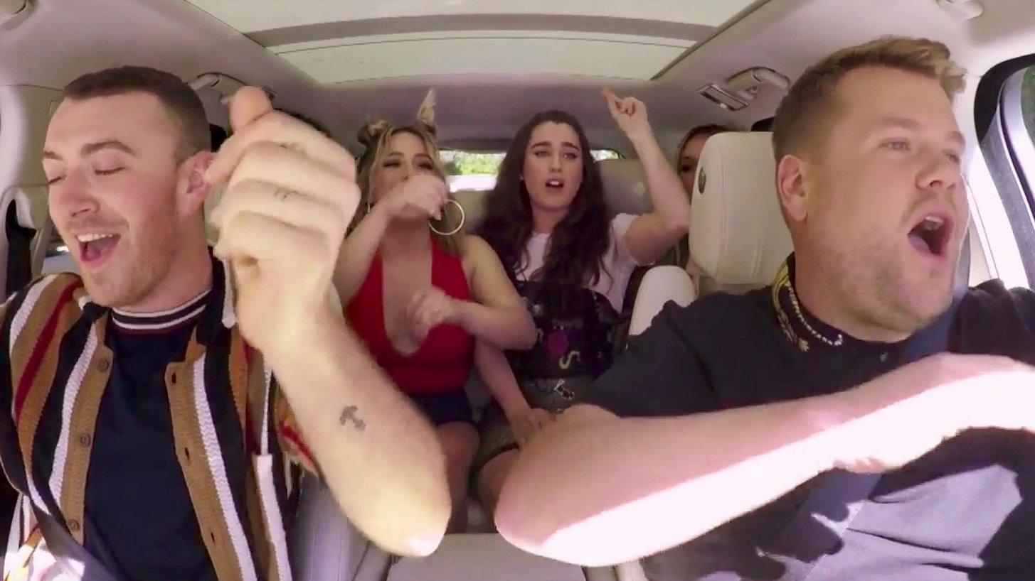 Sam Smith doet de Carpool Karaoke