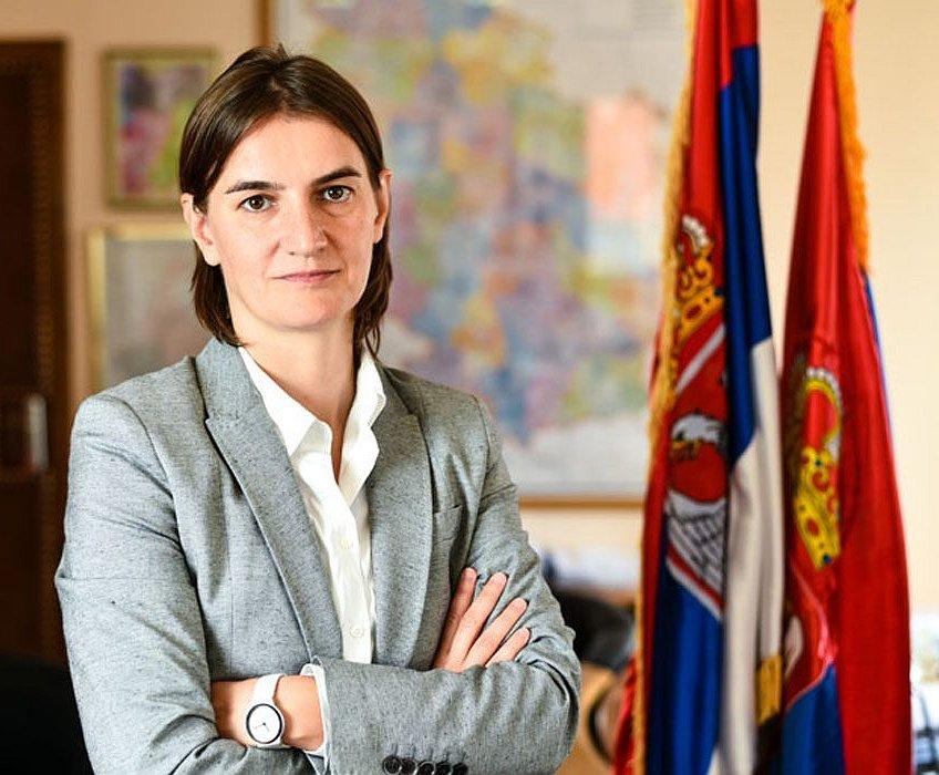 Openlijk lesbische premier Servië loopt mee in Pride Parade