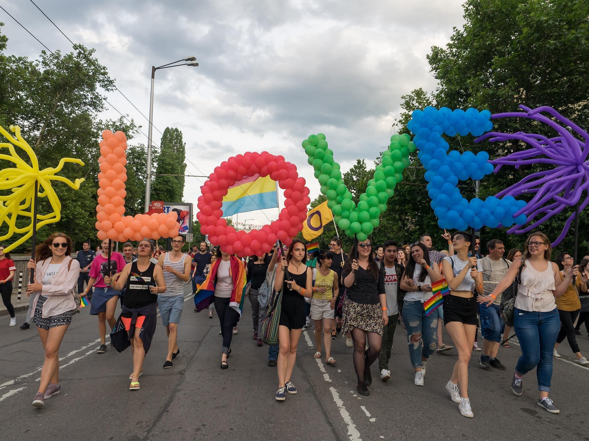 Sofia Pride werd een feestje om de liefde te vieren