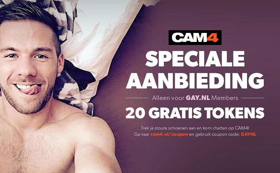 Speciale aanbieding: 20 gratis tokens voor CAM4
