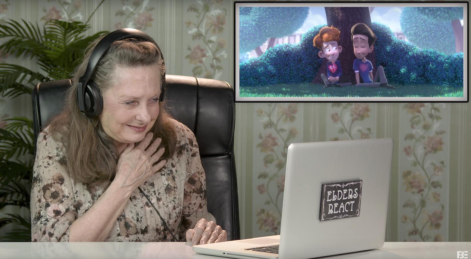 Te lief: ouderen reageren op de emotionele gay animatiefilm In a Heartbeat