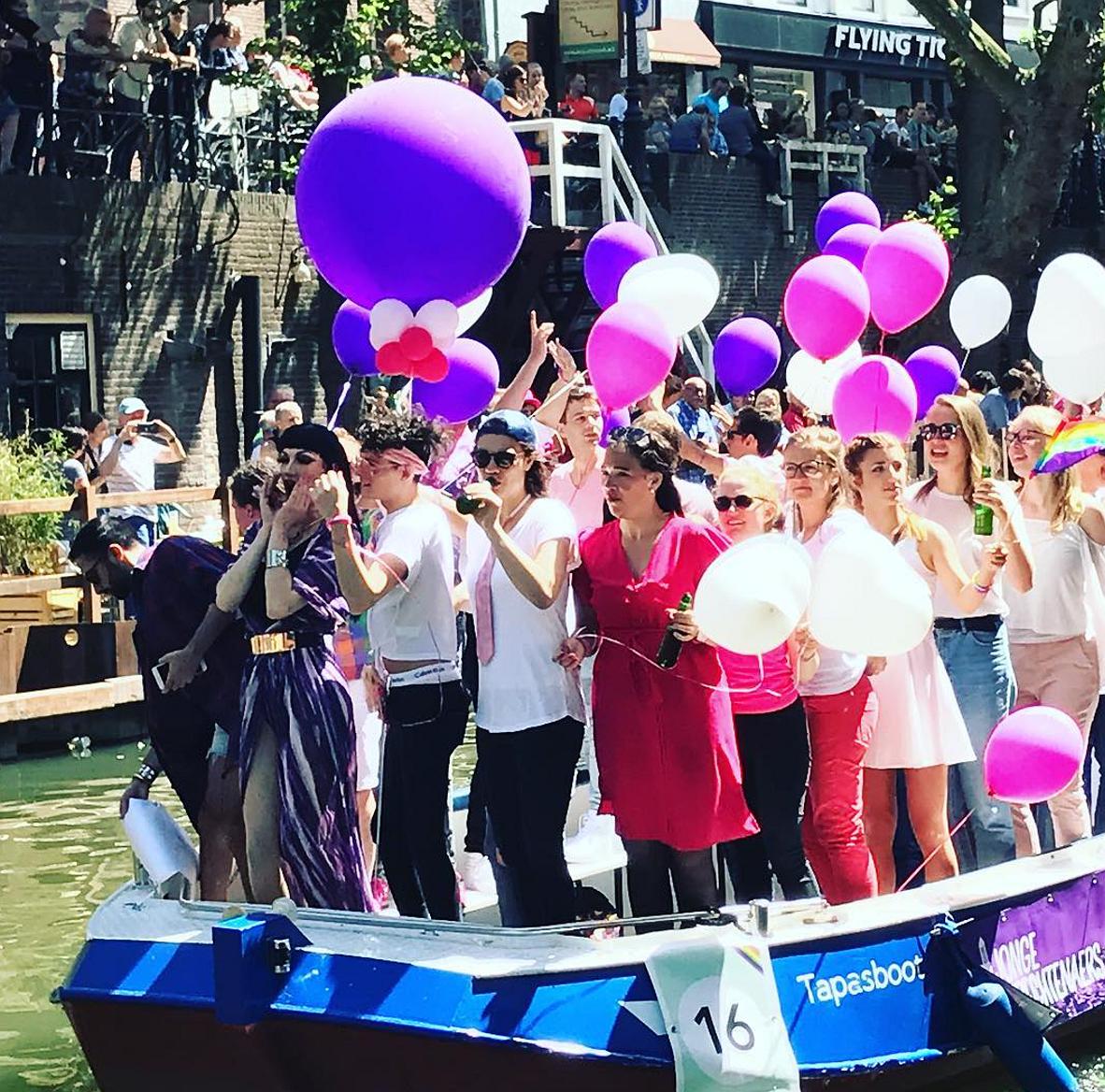 Kijken: Utrecht viert voor de eerste keer Pride!