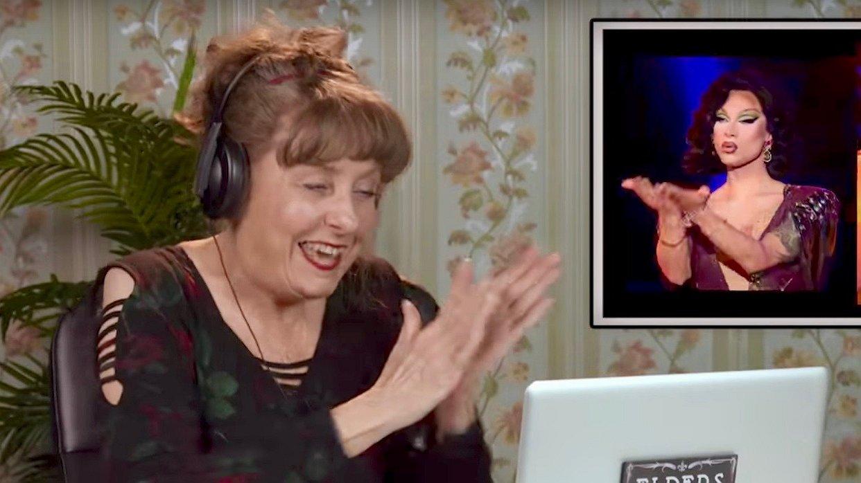 Hoe reageren ouderen op een aflevering van RuPaul's Drag Race?